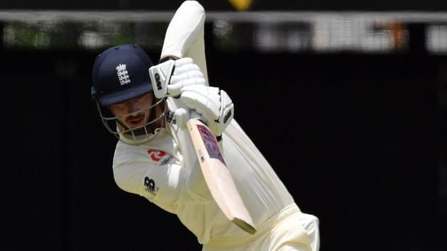James Vince in action on Day 1 of the first cricket Test of the Ashes series between England and Australia in Brisbane.(AFP)