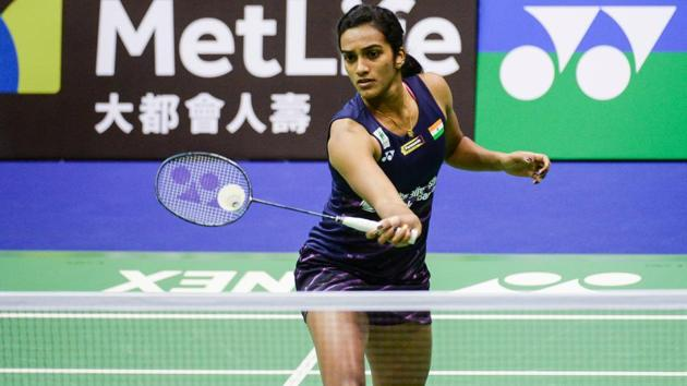 India's PV Sindhu has entered the semi-finals of the Hong Kong Open Superseries badminton tournament.(AFP)