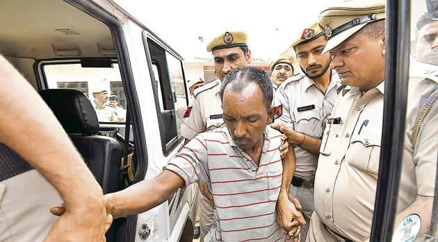 Kumar said he was told by CBI investigators to take look at the juvenile accused apprehended in the Ryan murder case, as the latter was lodged in the same corridor of the agency's headquarters in New Delhi. He said he wasn't aware of the boy's arrest till then.(Sanjeev Verma/HT FILE PHOTO)