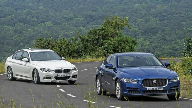 Both the BMW 330i and Jaguar XE 25t feel very special to drive.