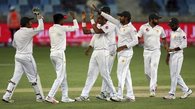 Pakistan cricket team (in picture) hasn't played a Test match against arch-rivals India since the 2007-08 season.(AP)