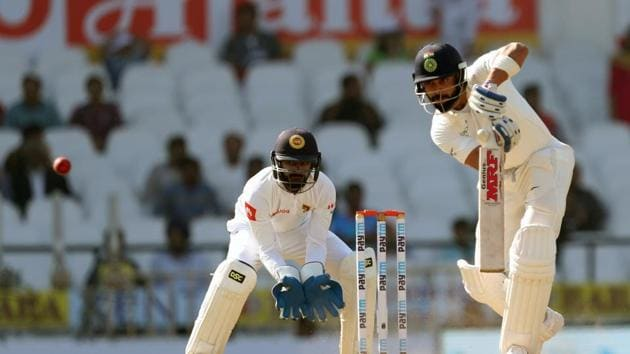 Virat Kohli registered his fifth double century as India declared on 610/6, leading by 405 runs on Day 3 of the second Test between India and Sri Lanka in Nagpur. Get full cricket score of India vs Sri Lanka, 2nd Test, Day 3, Nagpur here(BCCI)