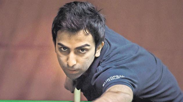 Pankaj Advani defeated Luo Honghao of China 6-2 in the best-of-eleven quarterfinal at the World Snooker Championship.(PTI)