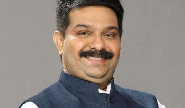 BJP's Maharashtra vice-president Prasad Lad.(Photo courtesy: Twitter.com/PrasadLadInd)