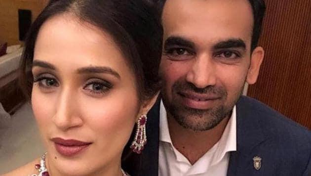 Sagarika Ghatge and Zaheer Khan are a married couple now.(Intagram)