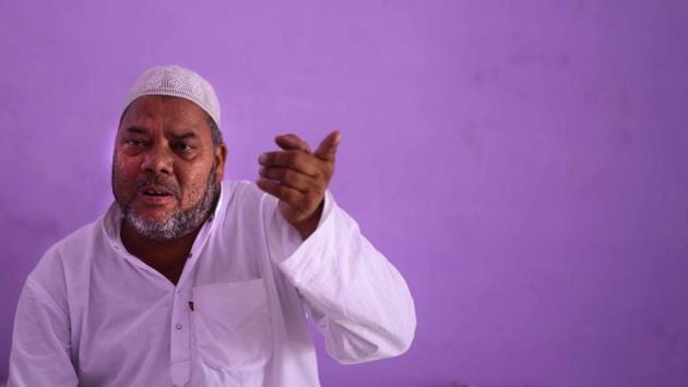 Junaid's father Jalaludin had moved the Punjab and Haryana high court on October 25.(HT PHOTO)