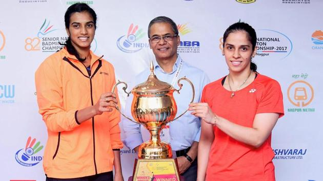 Saina Nehwal and PV Sindhu's teams will go head-to-head in the Premier Badminton League opener in Guwahati on December 23.(PTI)