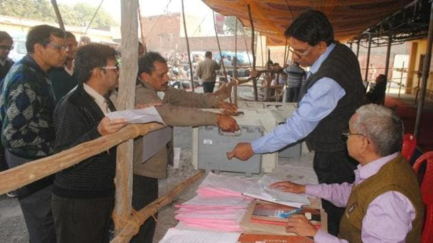 """S Mohammed Haider not only highlighted the anomalies but also blamed the departments concerned of """"barring a good majority of citizens from participating in the election process.""""(HT Photo)"""
