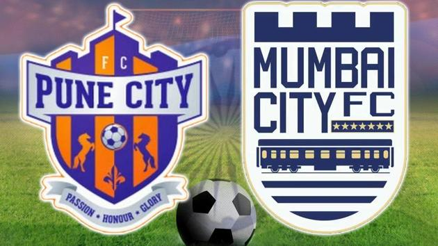 FC Pune City beat Mumbai City FC 2-1 at the Shree Shiv Chhatrapati Sports Complex in Pune. Get highlights of FC Pune City vs Mumbai City FC here.(HT Photo)