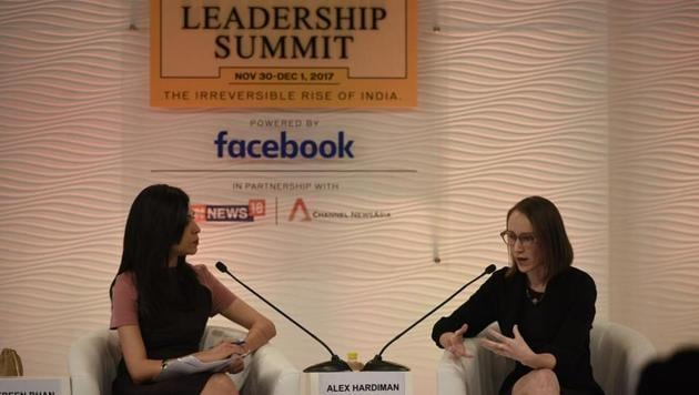 """We want people to trust the news they see"", Facebook Product Director, Alexandra Hardiman at the 15th Hindustan Times Leadership Summit."