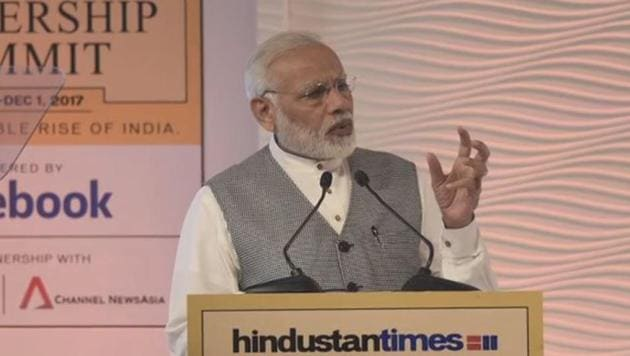 As Prime Minister,Narendra Modi inaugurated the 15th Hindustan Times Leadership Summit, while addressing the attendees, he spoke about fighting corruption in India at any cost.