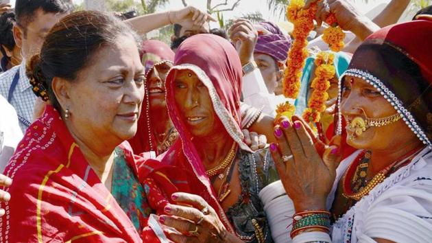 Rajasthan chief minister Vasundhara Raje will take part in the event.(PTI)