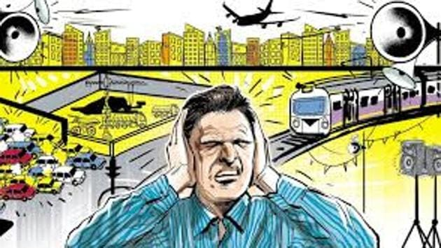 Vehicular noise is the top source of noise pollution in Mumbai, with decibel levels as high as 110 decibels (loud as concert or a live rock band) in some cases.(FILE)