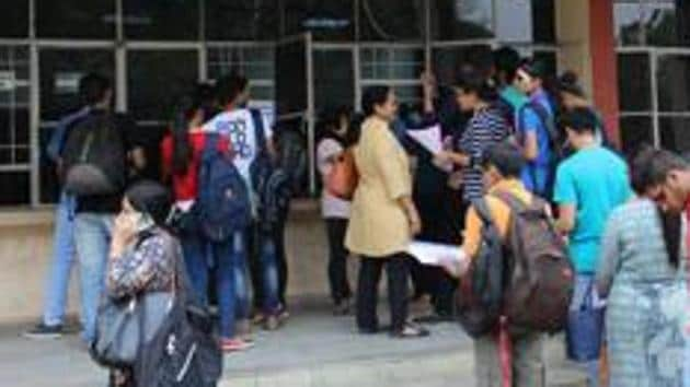 The deemed status is granted to higher education institutes doing quality work in a particular stream.(Anupam Prashant Minz/HT File Photo)