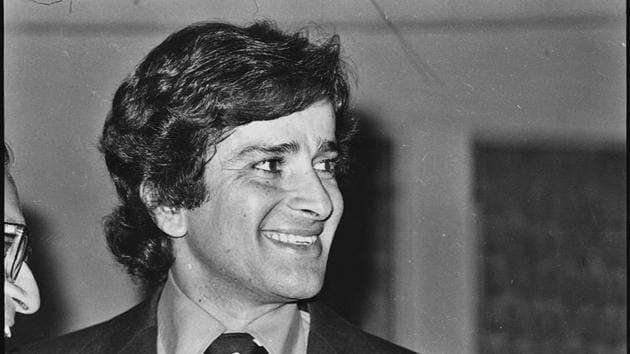 An 18 April 1987 file photo of Shashi Kapoor.(HT Photo by KK Chawla)