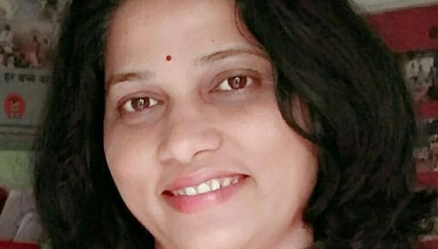 Jyoti Mhatre is the programme head of RCJJ and works across Maharashtra with the head office in Amravati.(HT Photo)