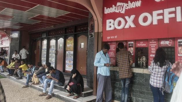 As per estimates, of the 13 lakh properties which are liable to pay tax in east Delhi, only 2.5 lakh pay up. Officials said the tax revision may lead to a hike in theatre ticket prices(HT File Photo)