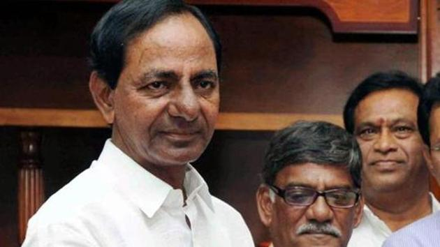 Telangana chief minister K Chandrasekhar Rao implemented a similar gift scheme for the Bathukamma festival.(PTI File Photo)