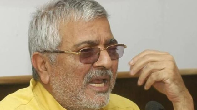 Aam Aadmi Party's Patiala MP Dharamvira Gandhi(HT File)