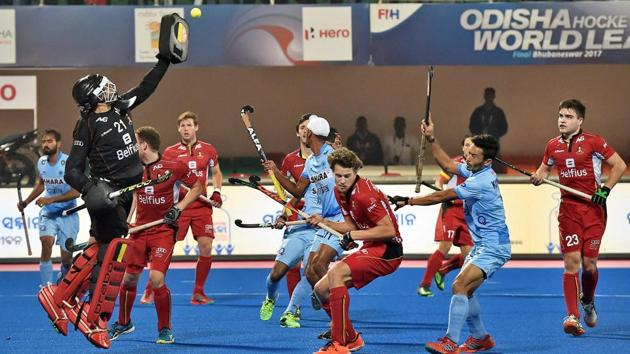 After losing to India in the Hockey World League Finals in Bhubaneswar, the Belgium men's hockey team were involved in a superstitious midnight escapade.(PTI)