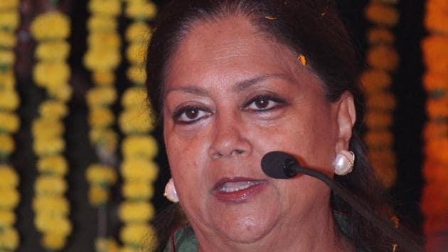 The first e-mail id that was created was of the chief minister, Vasundhara@rajasthan.bharat (in Devnagari).(HT Photo)