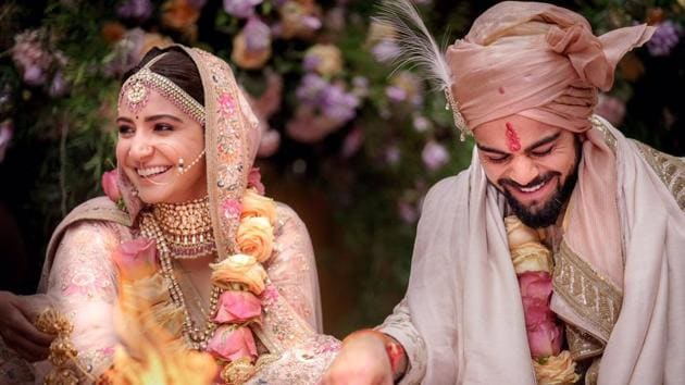 Anushka Sharma And Virat Kohli Married In Italy Grand Reception Planned In Delhi And Mumbai Hindustan Times