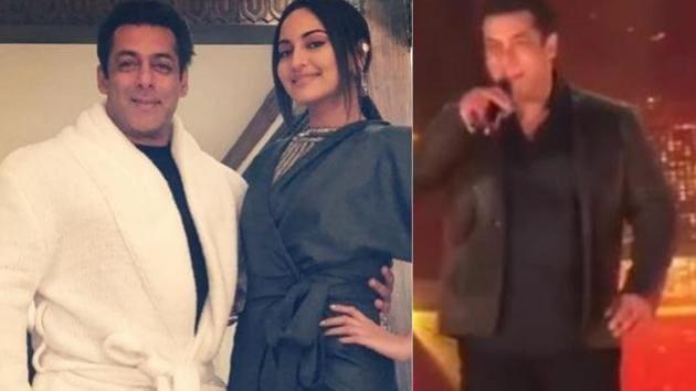 Salman Khan sings, dances with Sonakshi Sinha: Da-Bangg tour makes Delhi debut,...