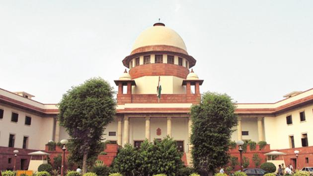 A view of the Supreme Court in New Delhi.(HT File Photo)