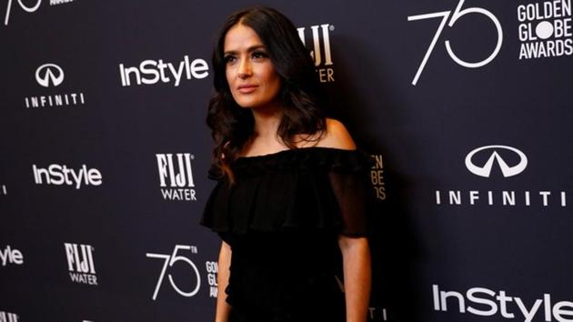 Salma Hayek is the latest one to speak against Hollywood producer Harvey Weinstein.(REUTERS)