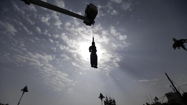 It was the largest number of executions in a single day since September 25 when 42 people were put to death in the same prison.(AFP File Photo)
