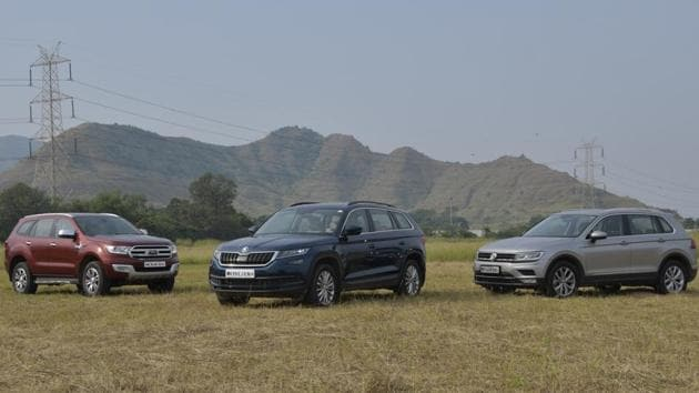 Between Ford Endeavour, Skoda Kodiaq and Volkswagen Tiguan, we try to find out which SUV offers the perfect balance of luxury and off-road skills.