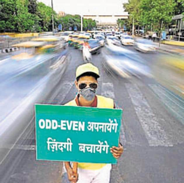 """At a recent meeting with authorities of Delhi-NCR, EPCA had said that whenever the air quality stays at """"emergency"""" levels for 48 hours, tougher measures under the Graded Response Action Plan (GRAP) will kick in automatically.(Ravi Choudhary/ / HT Photo)"""
