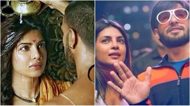 Priyanka Chopra and Ranveer Singh starred together in Bajirao Mastani.(Instagram)