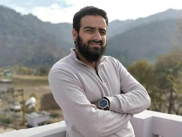 Anjum Bashir Khan Khattak had opted for public administration in the Kashmir Administrative Service exam prelims and anthropology and public administration in the mains.(Sourced)