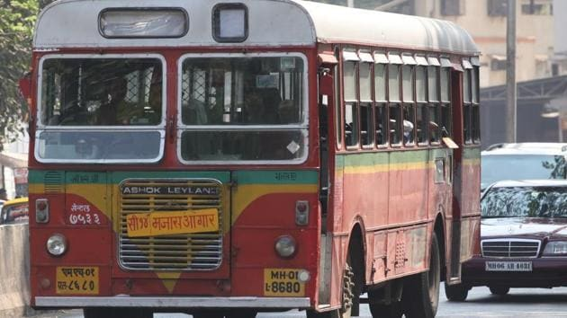 Wet leasing the buses will cost the undertaking Rs305.95 crore(HT FILE)
