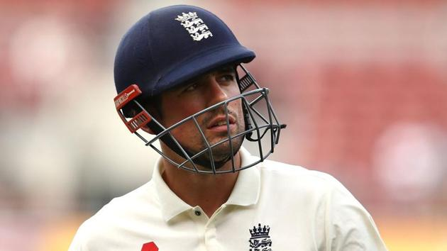 Former England captain Alastair Cook has failed to score big in the ongoing Ashes series.(Twitter)