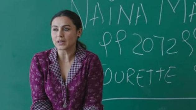 In her forthcoming film Hichki, Rani Mukherjee plays a woman with Tourette Syndrome who wants to be a teacher.