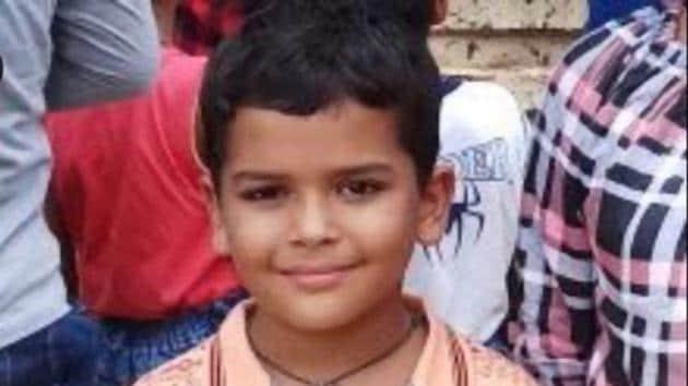 Eight-year-old Pradhyuman Thakur who was found dead in Ryan International school toilet in Maruti Kunj on September 8.(Parveen Kumar/HT Photo)