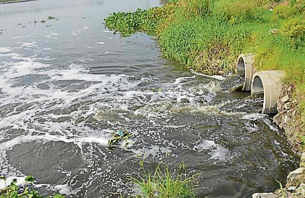 MPCB report published in February 2017 states that Pune region has maximum number of polluted river stretches.(HT File Photo)