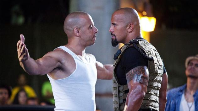 Vin Diesel and Dwayne Johnson have worked together on the Fast and Furious series.