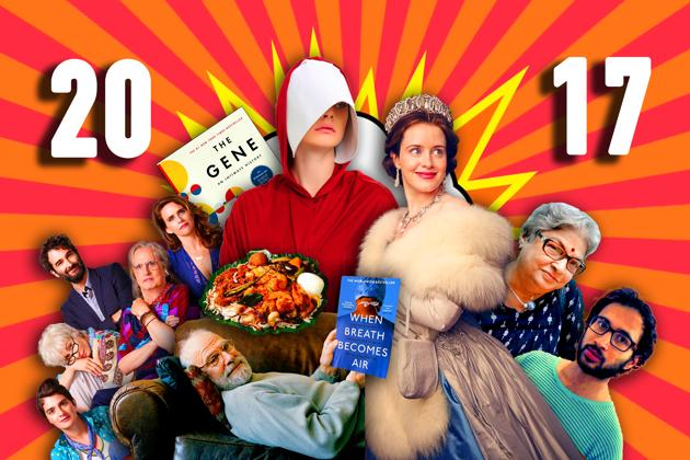 TV series, books, trends and people: the best of 2017!