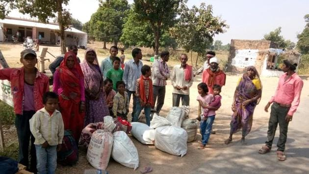 The impact of the drought on locals, especially the poor, can be measured through migration visible at railway stations and interstate bus terminals.(HT File Photo)