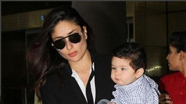 Just days after he celebrated his first birthday, Taimur Ali Khan was spotted taking his baby steps.