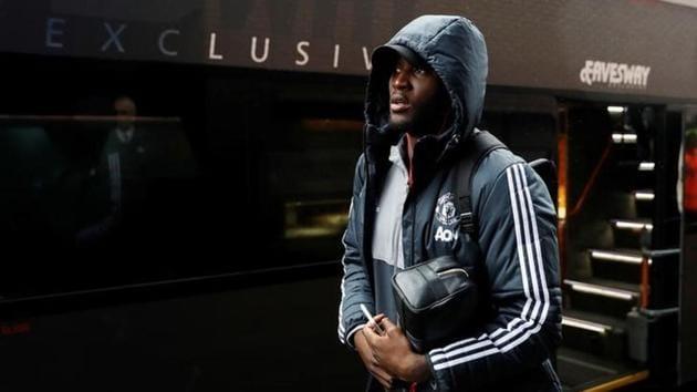 Manchester United striker Romelu Lukaku will return to action soon.(Reuters)