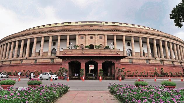 A view of the Parliament House(PTI Photo)