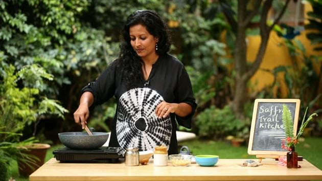 Nandita Iyer is the creator of the popular food blog Saffron Trail(Courtesy the author)