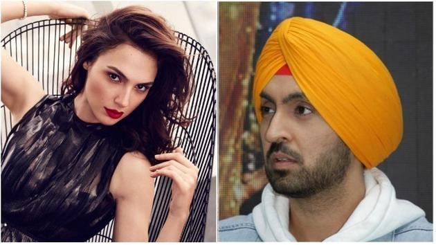 Diljit Dosanjh has a new celebrity crush, Gal Gadot.