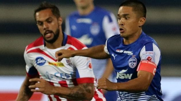 Bengaluru FC ride on Sunil Chhetri's winner to top Indian Super League standings