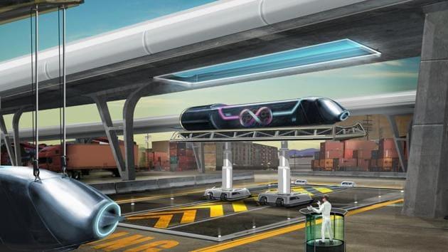 Hyperloop.(HYPERLOOP)