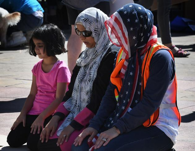 Despite its exponential rise, Muslims will only account for 2.1% of the US population.(Representational photo/AFP File)